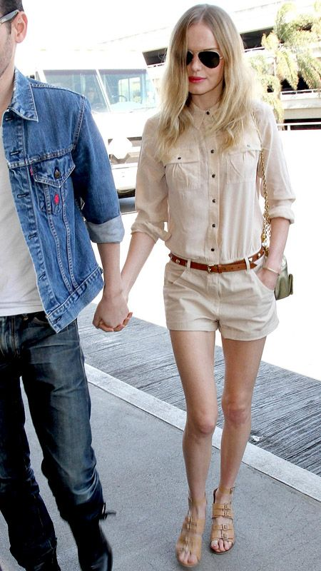 3b6982b6893 Kate Bosworth - street style. Bosworth went for a monochromatic look—an  ivory button