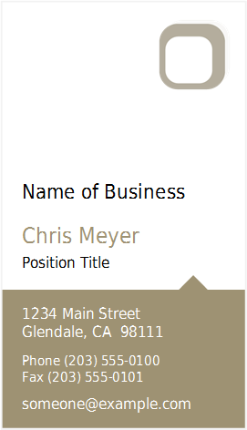 Business card template at word documents microsoft templates business card template at word documents wajeb Images