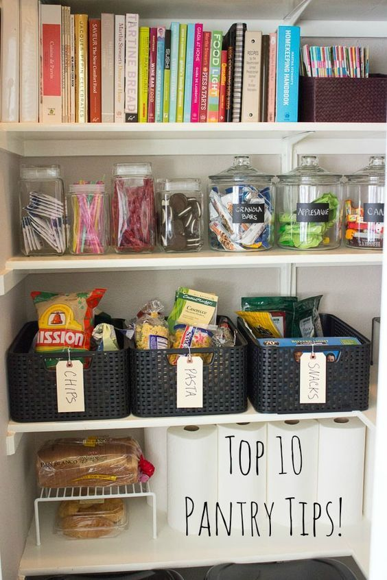 10 simple steps to organizing your pantry pantry organization organization organization hacks on do it yourself kitchen organization id=35377