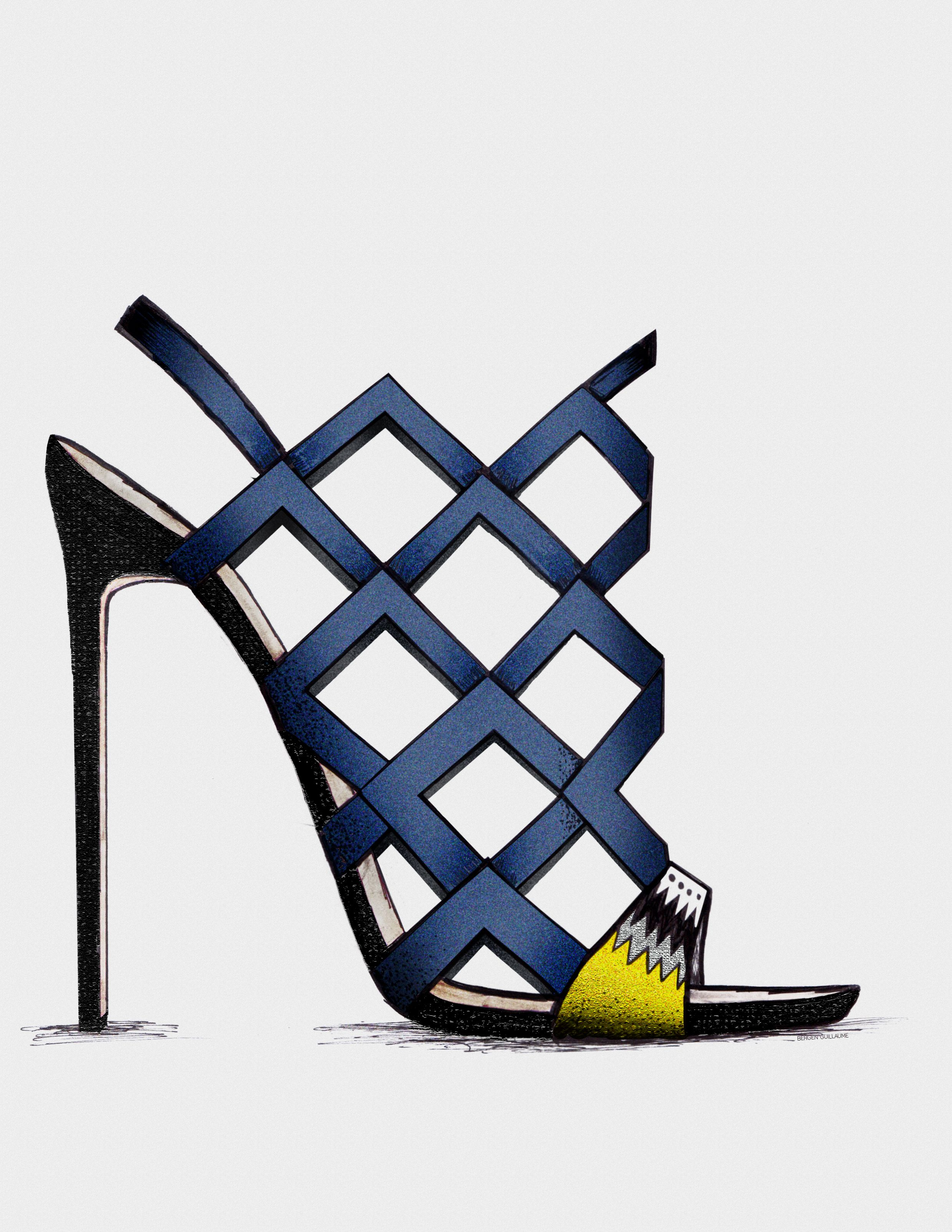 ● Malicka - Guillaume Bergen Spring /Summer '15 - Collection #guillaumebergen#Stiletto ♦F&I♦