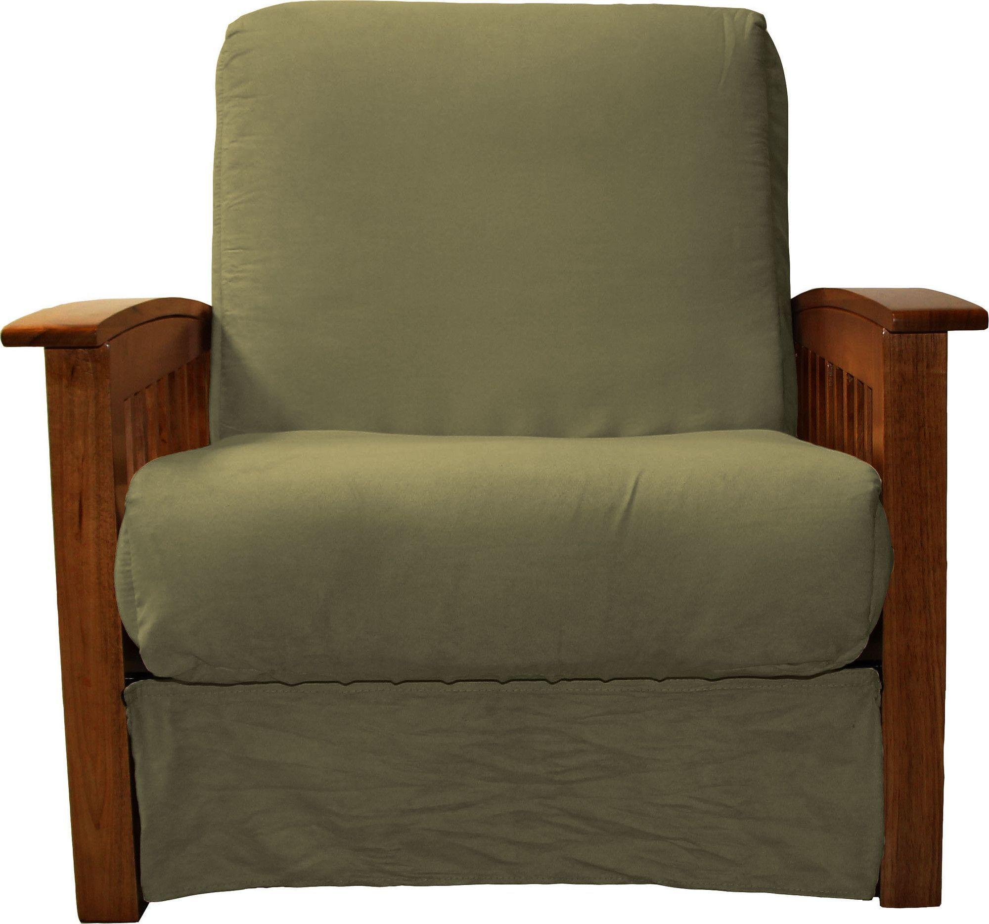 nantucket perfect sit n sleep inner spring pillow top chair