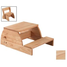Incredible Kidkraft 2 Step Natural Wood Step Stool 15821 Products In Gmtry Best Dining Table And Chair Ideas Images Gmtryco