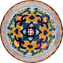 talavera mexican ceramic plate .mexicantiles.com #tiles  sc 1 st  Pinterest & talavera mexican ceramic plate www.mexicantiles.com #tiles | Mexico ...
