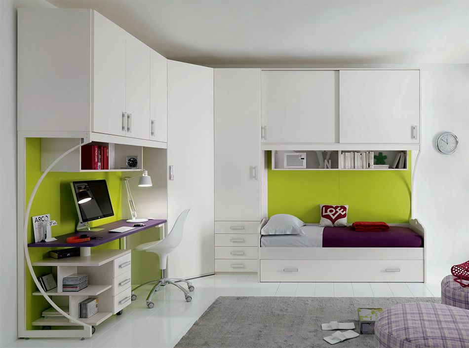 Spar Camerette A Ponte.Italian Kids Corner Bedroom Set Web 61 By Spar Modern Kids
