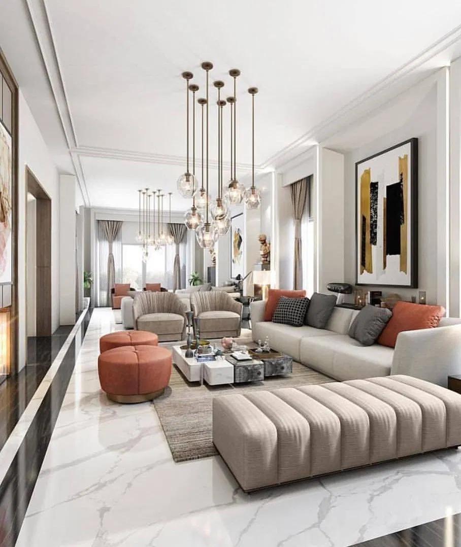The Best Interiors On Instagram Interior Design Inspiration Contemporary Decor Living Room Luxury Living Room Trendy Living Rooms