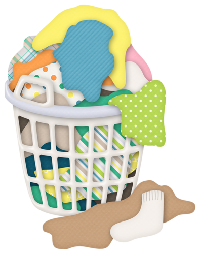 Laundry Basket Clipart : Hamper time to clean laundry baskets