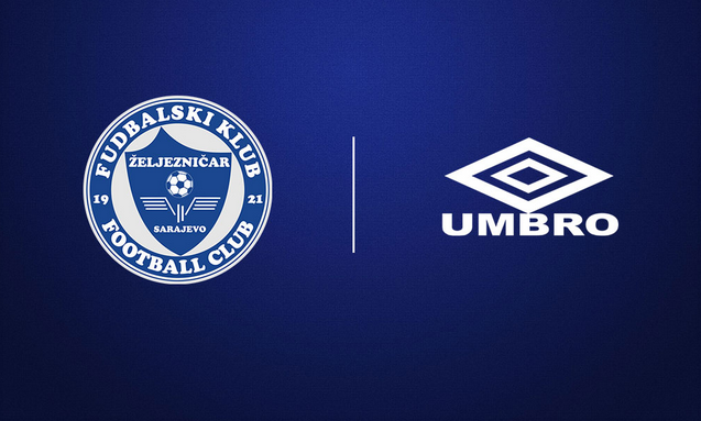 Zeljo u UMBRO opremi u sezoni 2018/19 Umbro, Sarajevo, Club