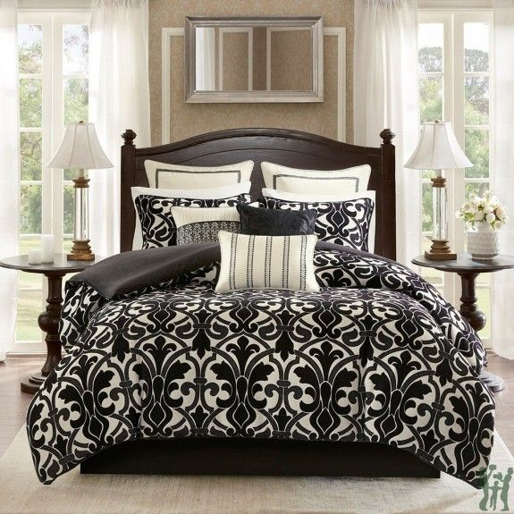 Harrison Chenille Jacquard Bedding Set By Bombay Comforter Sets