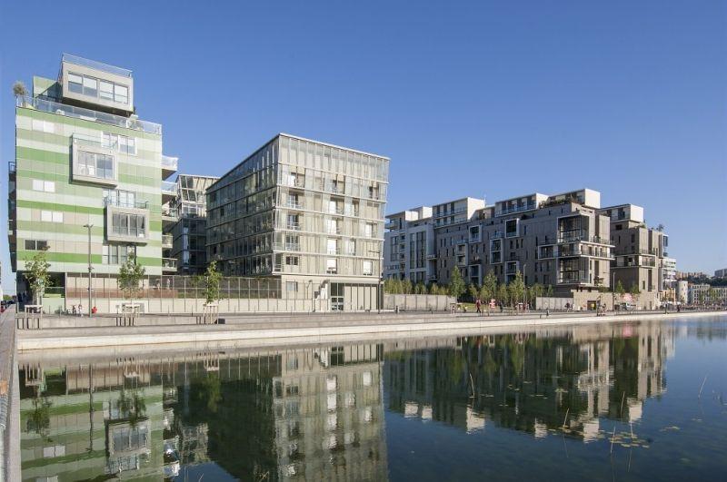 Saône Park - architectes : Tania Concko - Dusapin-Leclercq - Hervé Vincent #lyonconfluence #laconfluence #architecture #quartierdurable #architecturedurable (c) Aurélie Pétrel / SPL Lyon Confluence