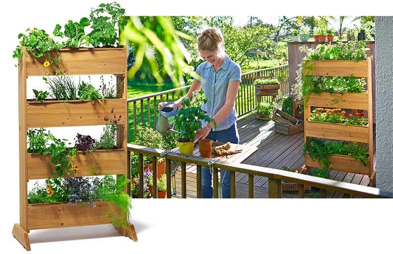 Vertikalbeet Vertikalbeet Garten Tchibo