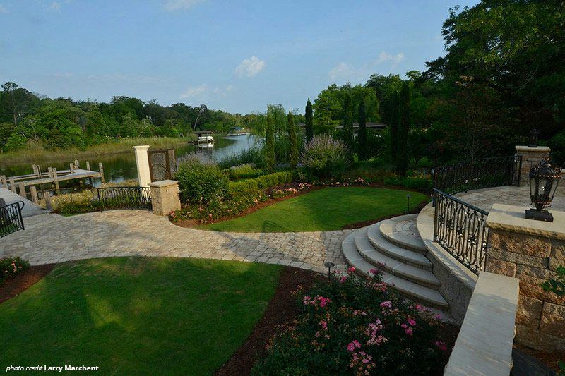 Timeless Tanglewood Project By Gulfside Landscaping In Pensacola Fl Contact Gulfside When You Need The Best Desi Landscape Projects Landscape Design Hardscape