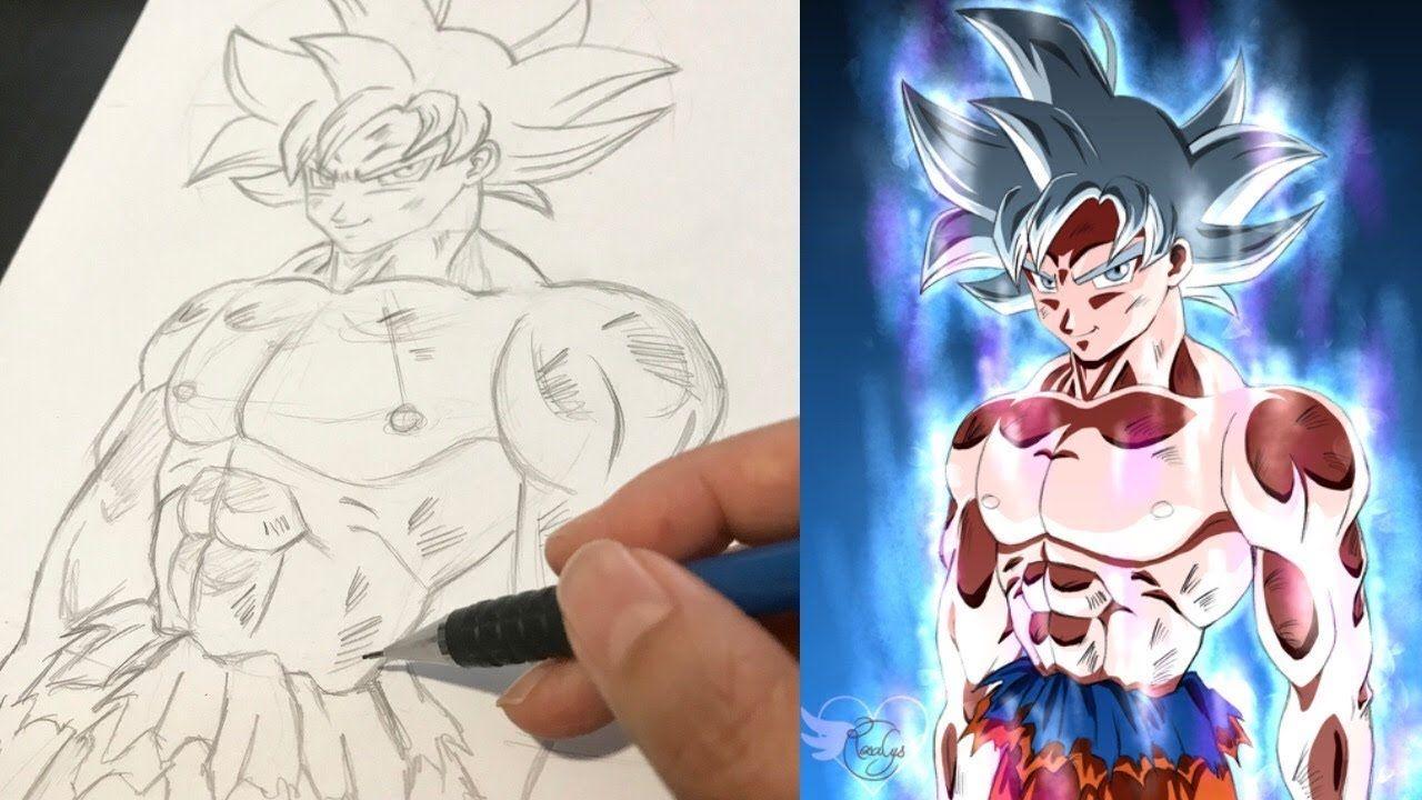 Dessin Crayon Papier Son Goku Ultra Instinct Dragonball Super Tuto Comment Je Dessine Manga Facile From Rosalys At Dessin Crayon Papier Dessin Dessin Cadeau