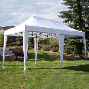 Walmart Undercover 8 X 16 White Party Pop Up Shade Canopy Instant Canopy Outdoor Canopy Gazebo Canopy Outdoor