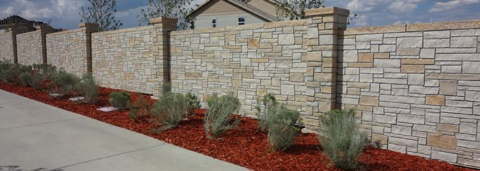 Sound Barrier Fence   Stonetree® Concrete Fence Systems