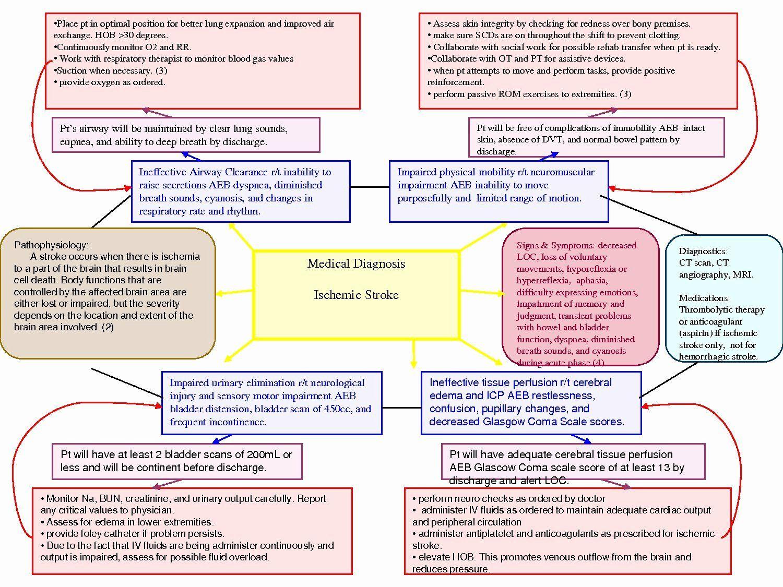 Home Health Care Plan Template Inspirational Antique Image Nanda Nursing Diagnosis List Stroke Nursing Concept Map Nursing Nursing Diagnosis