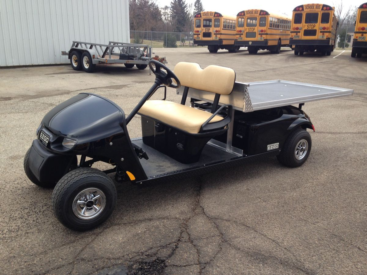 Here Is An Interesting Project That We Recently Completed And Delivered To The Beavercreek Public School District Golf Carts Custom Golf Carts Best Golf Cart