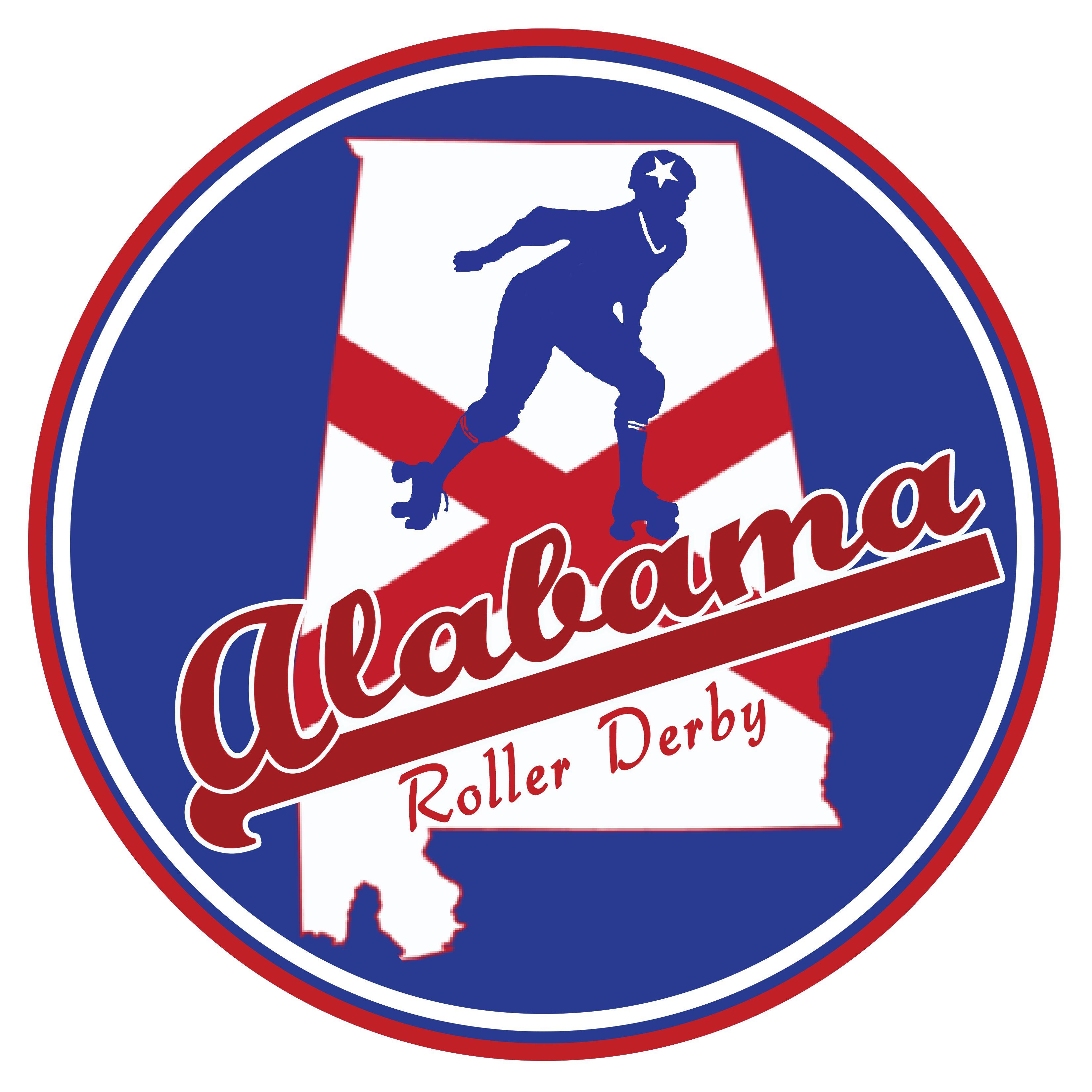 Roller skating rink huntsville al - Alabama Roller Derby Team Official Logo