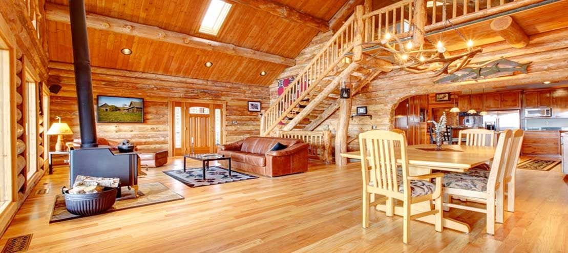 Rustic Log Home Decor: Rustic Cabin Decor - Lodge And Hunting Decor