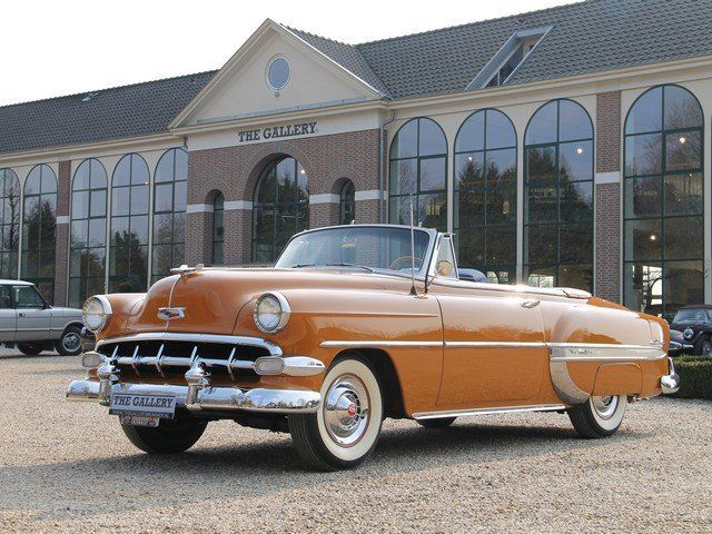 1954 Chevy Bel Air Convertible...I don't like convertibles but this is my favorite car...so.