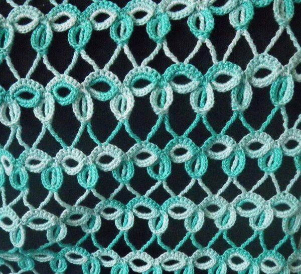 Interesting crochet stitch pattern.   PRJKT @ Índica   Pinterest ...