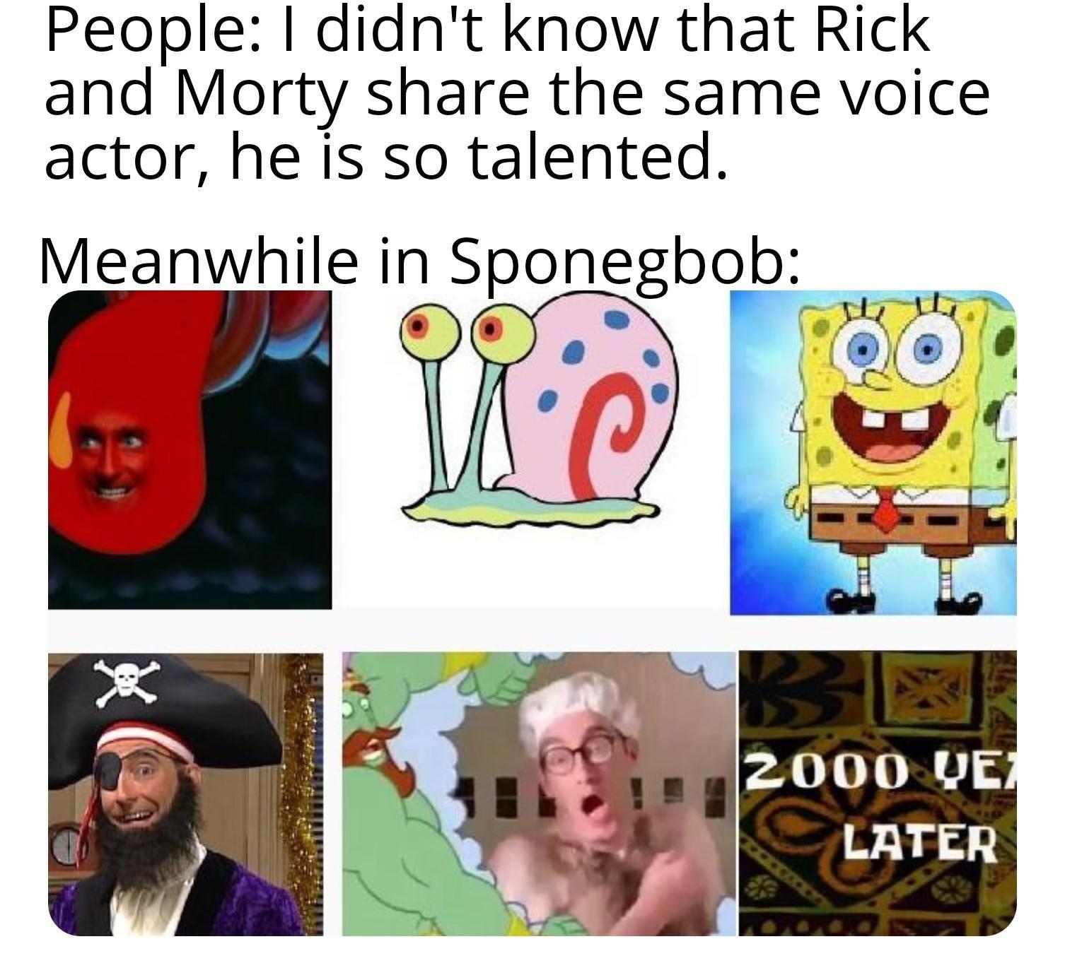 Tom Kenny Is The Best R Bikinibottomtwitter Spongebob Squarepants Funny New Years Memes Funny Relatable Memes Happy Memes