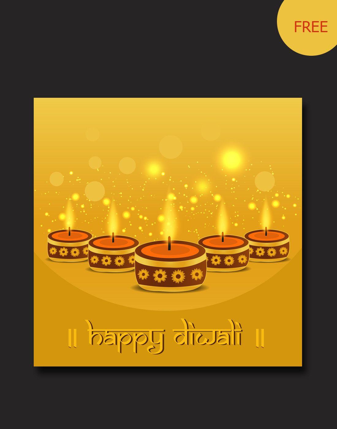 diwali greetings backgrounds | diwali vector templates | Pinterest ...