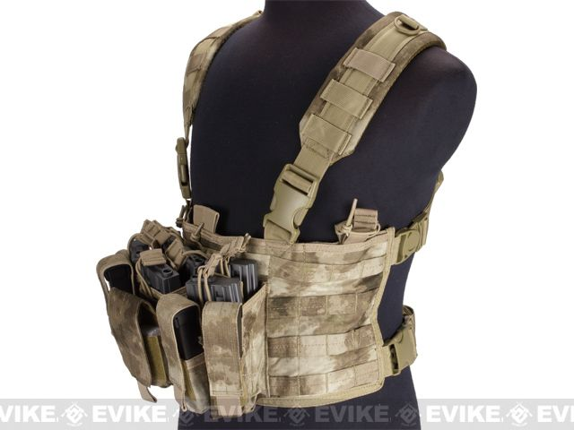 Condor Gen 5 Tactical MOLLE Recon Chest Rig - A-TACS FG, Tac. Gear