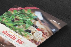 this free gurih 86 recipe book template can be used to create your