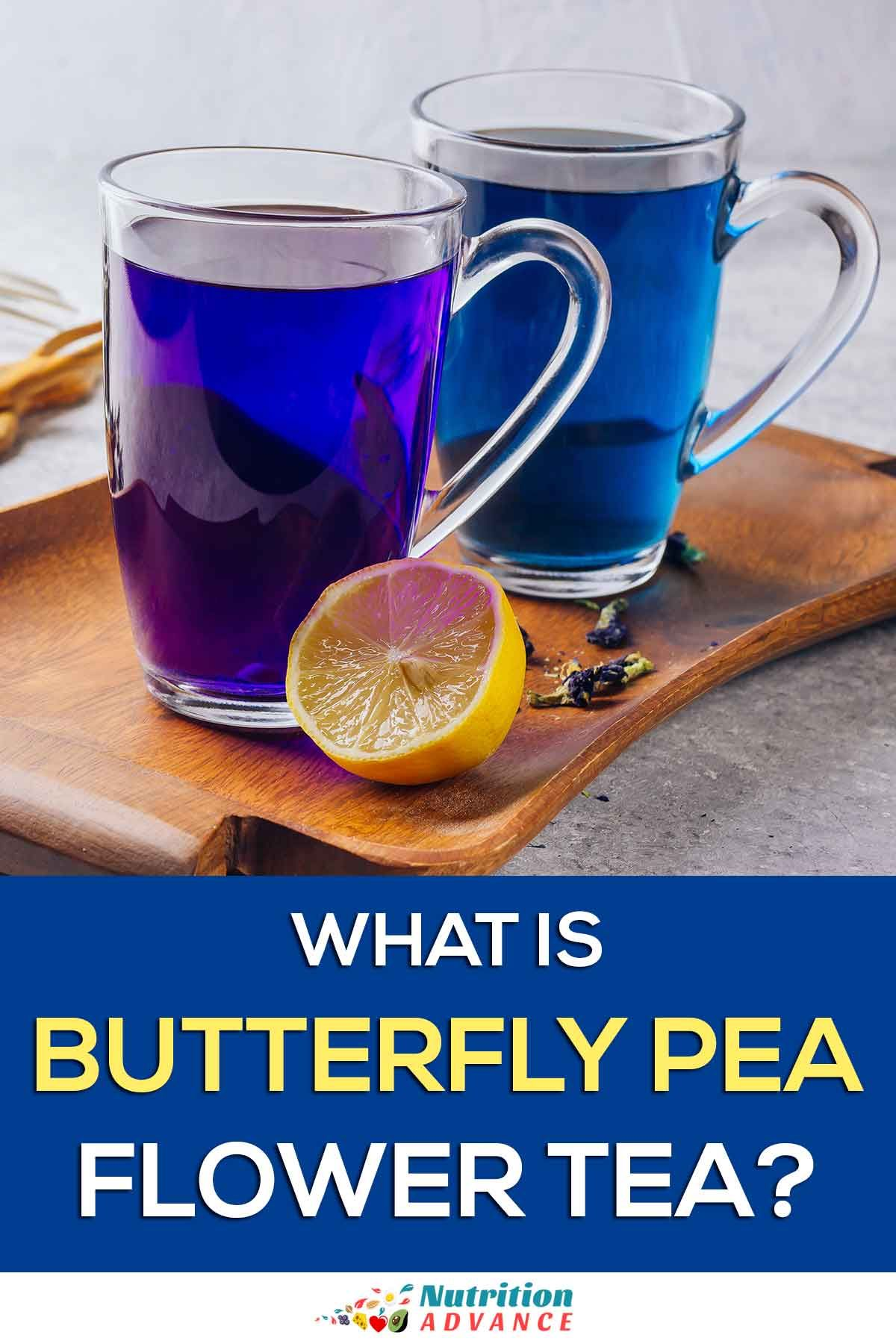 What Is Butterfly Pea Flower Tea? (Blue Tea) Butterfly