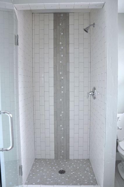 Mixing Vertical And Horizontal Subway Tile Bing Images Bath