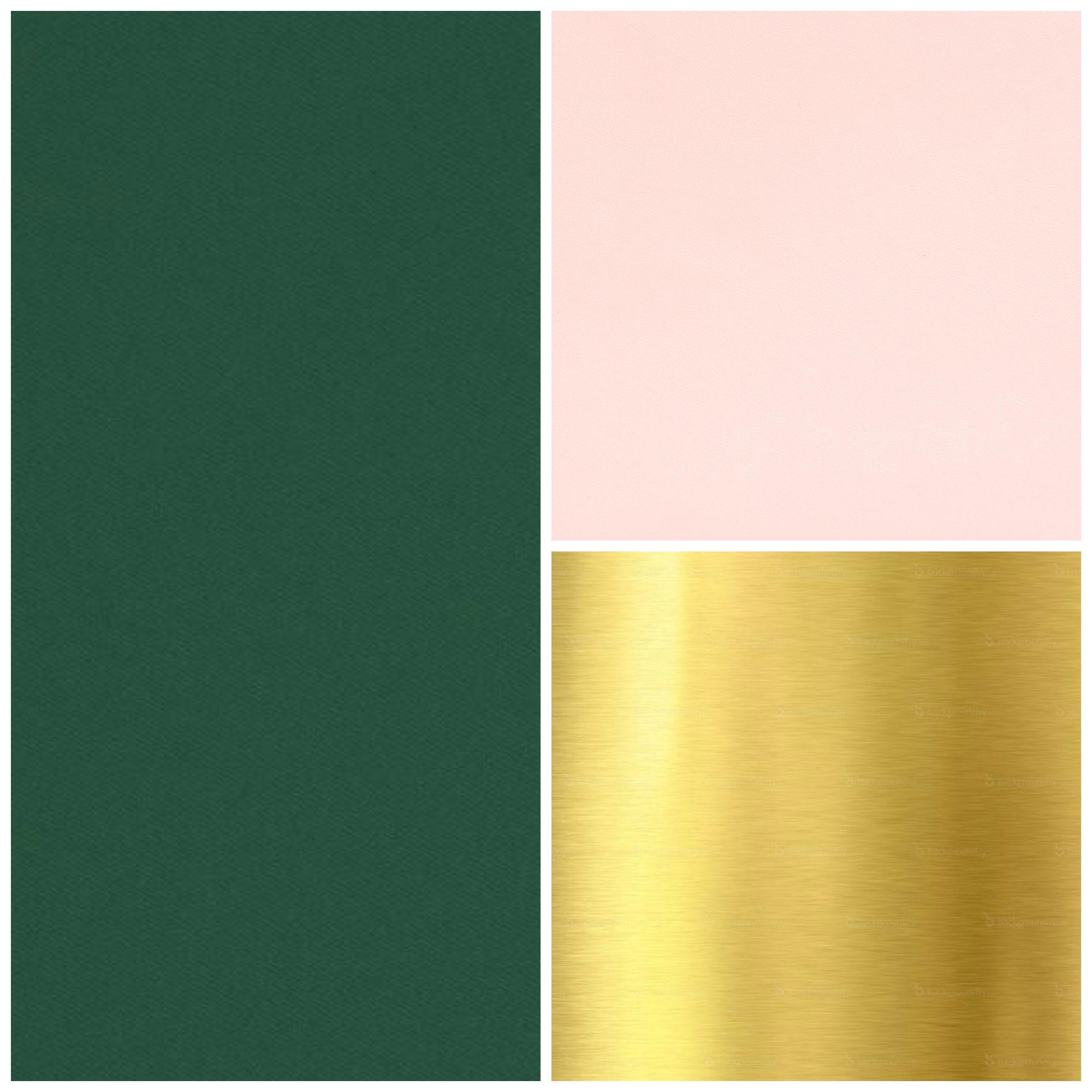 Dark Green Blush And Gold Wedding Color Scheme Green Colour Palette Green Carpet Blush Color Palette