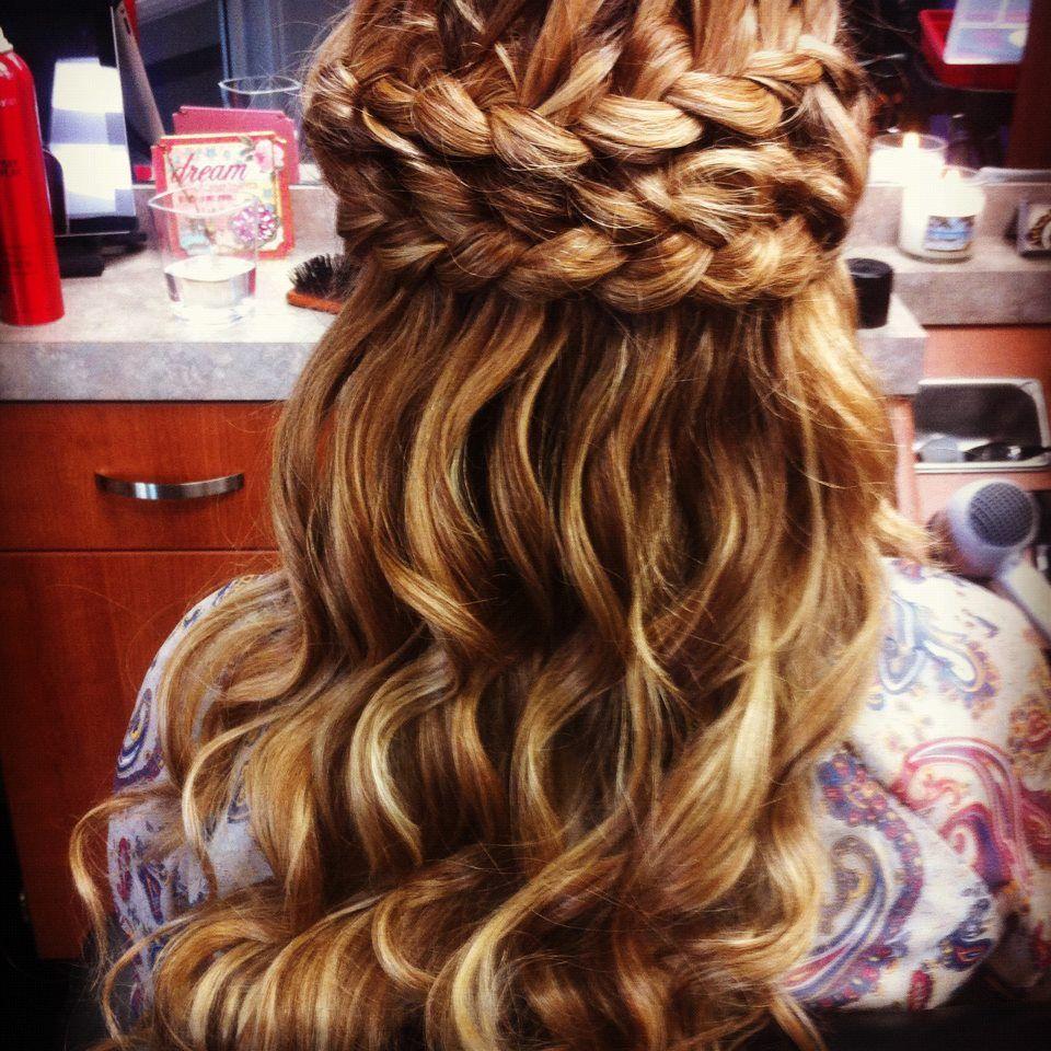 hair by jenny prom hair, curls, braids, wedding hair, bride