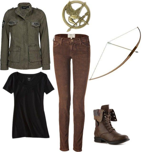 Katniss for Halloween? The Hunger Game Pinterest Costumes - last minute halloween costume ideas teens