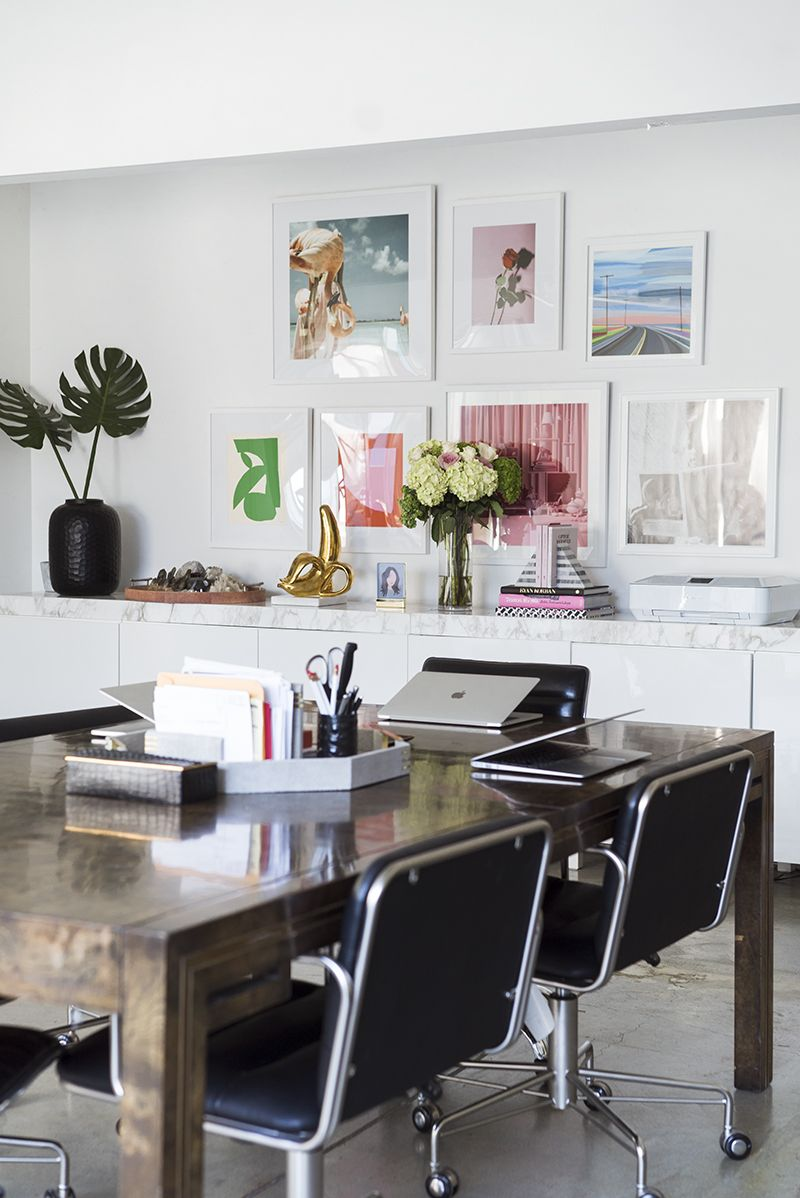 Office Tour | Song of Style | Interior design career, Office interior design, Office interiors