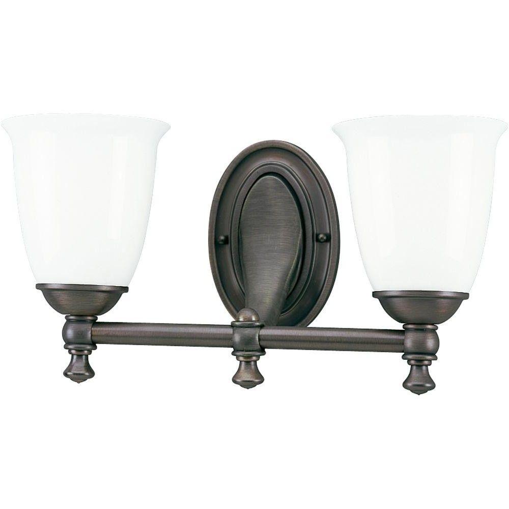 Progress Lighting Victorian Collection 2 Light Brushed Nickel From Victorian Bathroom Lighting Fixtures