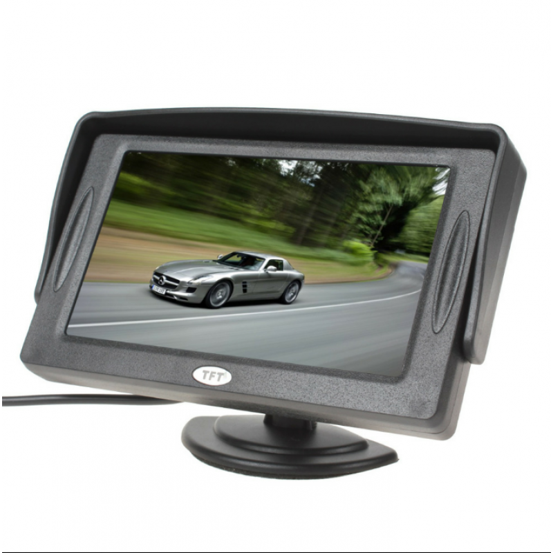 شاشة سيارة متعددة الاستخدامات Backup Camera Monitor Display Screen