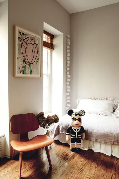 A FAMILY HOME IN NEW YORK (style-files) Schlafzimmer - wohnzimmer design lila