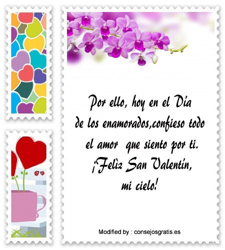 mensajes de texto para enviar en San Valentìn,dedicatorias ...