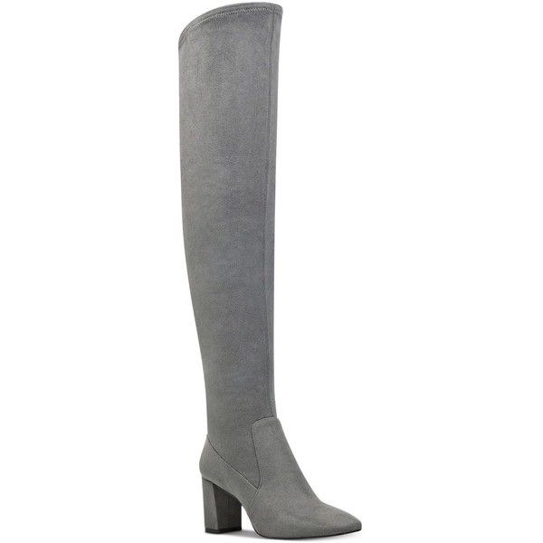 155b1548ddf Nine West Xperian Over-The-Knee Boots ( 125) ❤ liked on Polyvore ...