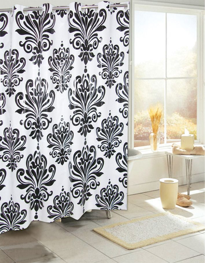 Leatherhead Plastic Shower Curtain Plastic shower