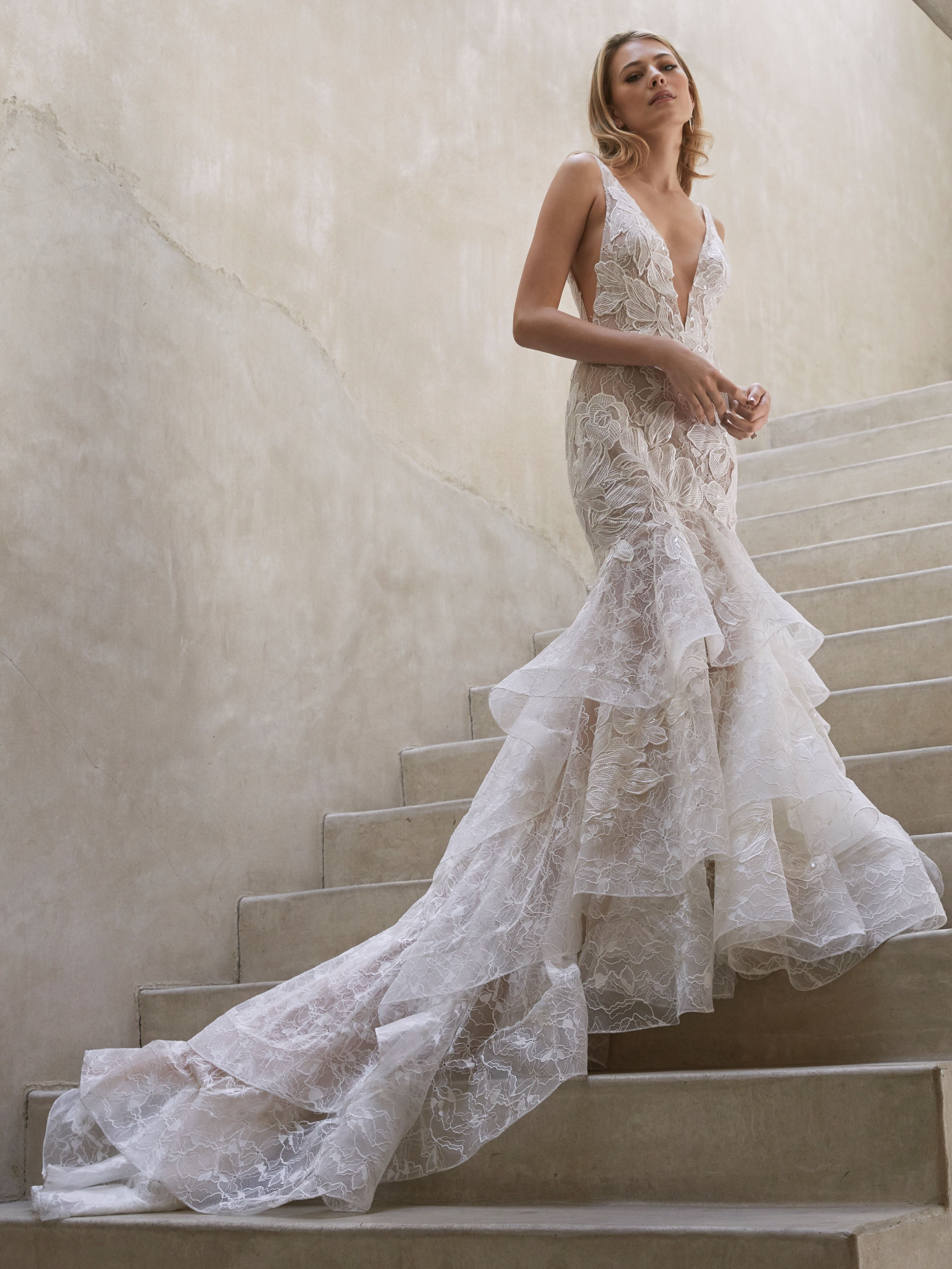 Watters Birdie Wedding Dresses Beautiful Wedding Dresses Bridal [ 4444 x 3333 Pixel ]