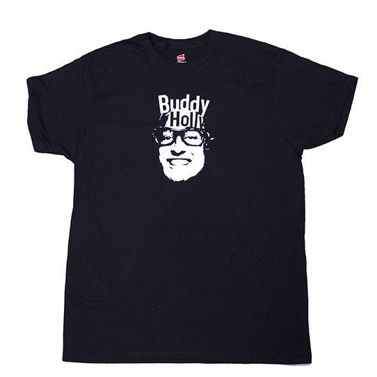 Idiot Genius Buddy Holly Shirt $12.99