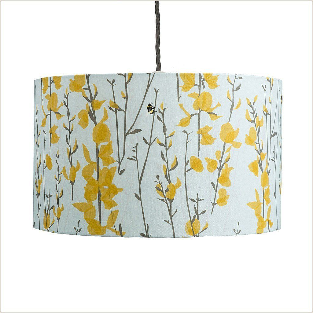 Lorna Syson Broom U0026 Bee Sky Lampshade Photo