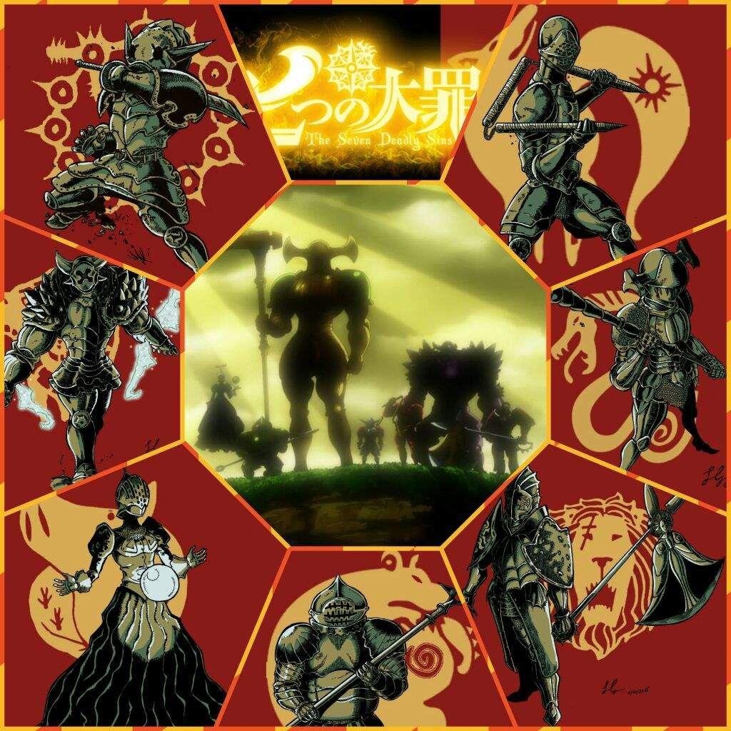Seven Deadly Sins Anime Wallpaper Google Search Nanatsu No