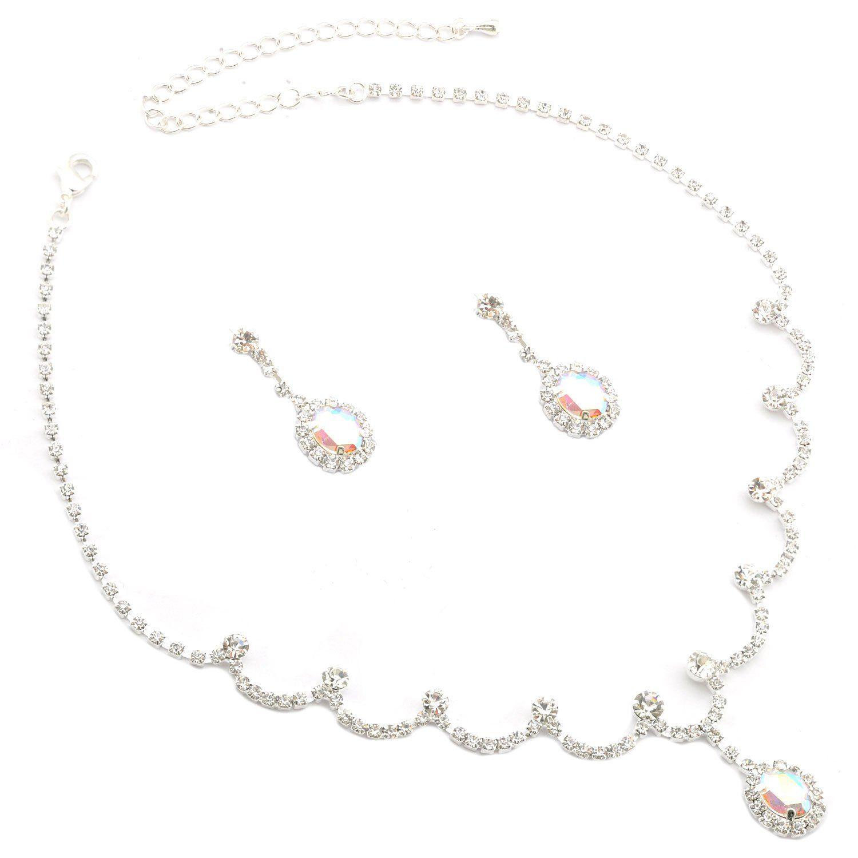 Topwholesalejewel Fashion Bracelet Silver Plating Sapphire Rhinestone Link Bracelet