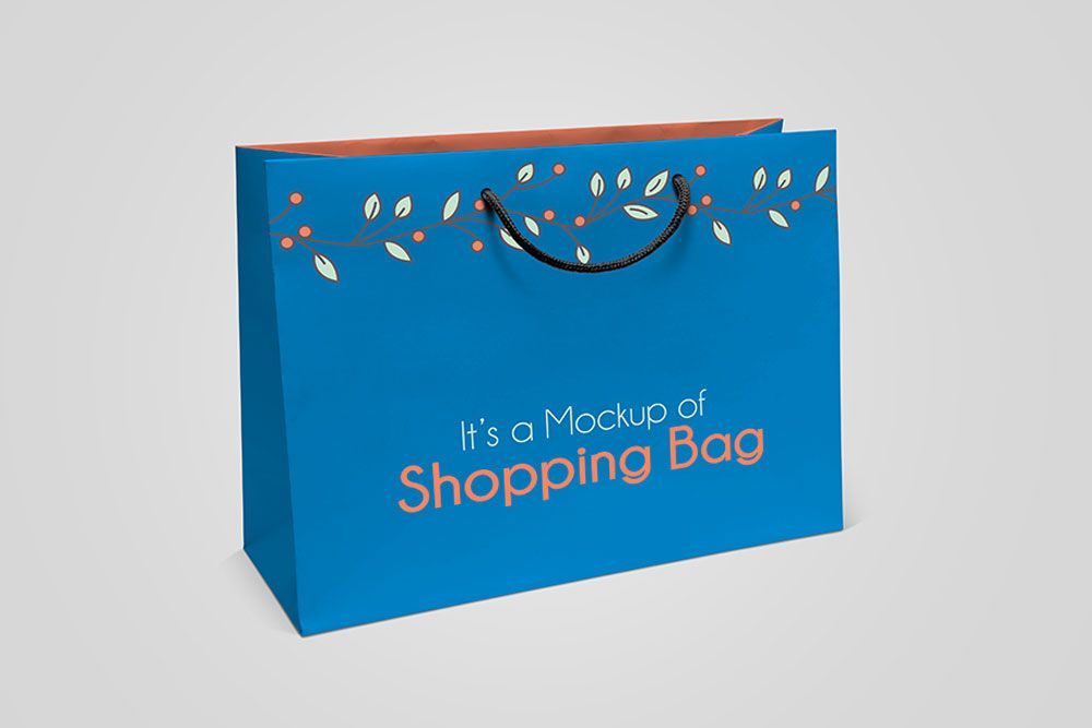 Download Paper Shopping Bag Psd Mockup Wonderful Design Useful Features Bag Mockup Paper Shopping Bag Mockup Psd