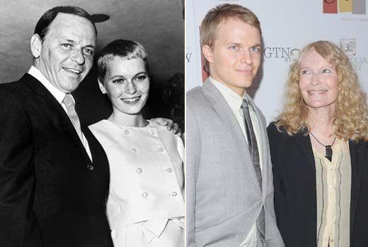 Today Show Mia Farrow S Son Ronan Farrow Possibly Frank Sinatra S Says New Interview Frank Sinatra Vintage Film Stars Sinatra