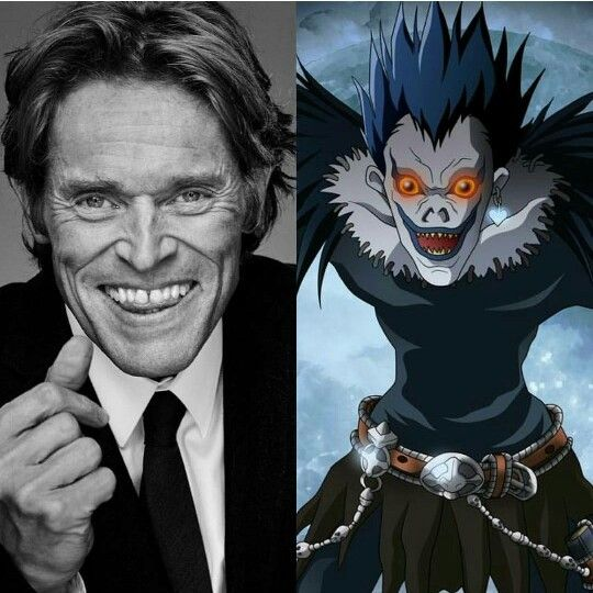 In Perfect Casting News Willem Dafoe Cast As Ryuk The