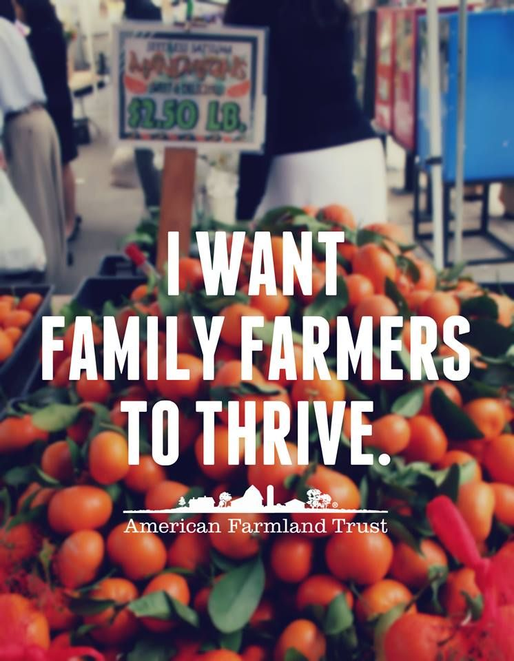 Be a champion for family farmers! Pledge this weekend to shop at your local farmers market, and share this photo to encourage your friends to do the same. www.LoveMyFarmersMarket.org