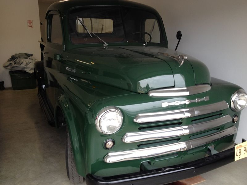 For Sale: 1948 Dodge B1B 1/2 ton Pickup, Ofallon, Illinois ...
